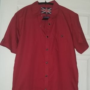 💥NWT Mens For Him London Short Sleeve Shirt
